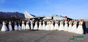 Coolest wedding ever! Chinese Soldiers collectively wed in style (Photos)
